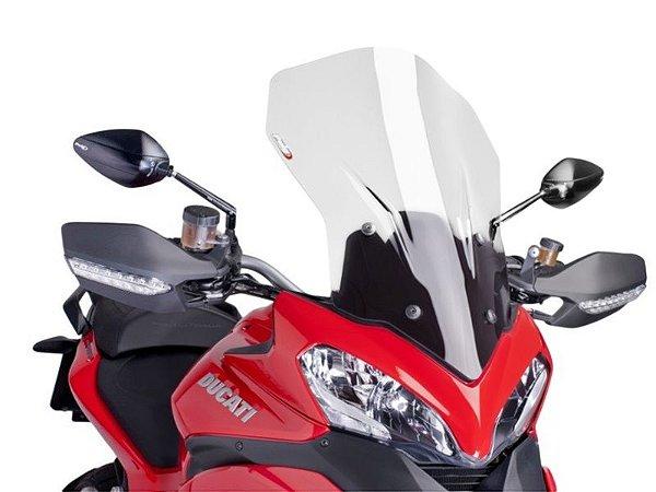 Bolha Touring Em Acrílico Transparente Ducati Multistrada 1200 Puig