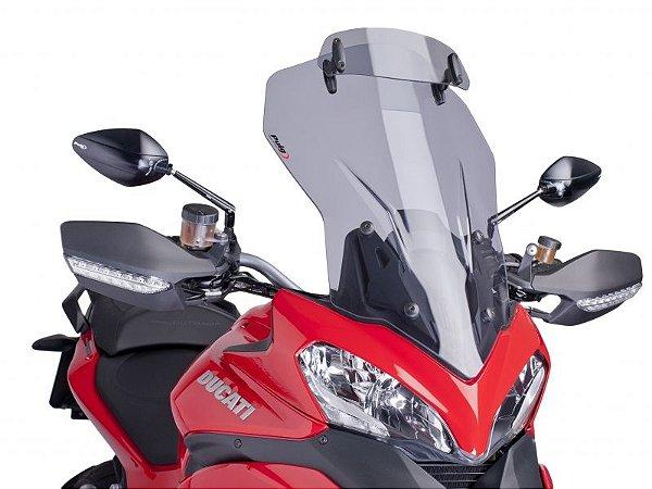 Bolha Touring em Acrílico com Defletor Ducati Multistrada 1200 Puig