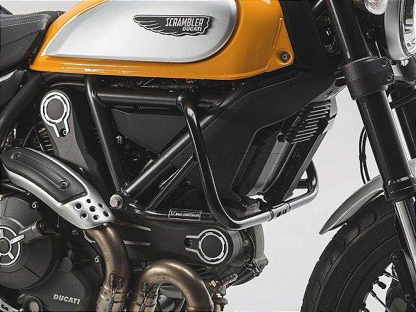 Protetor De Motor Lateral Preto Ducati Scrambler 2016