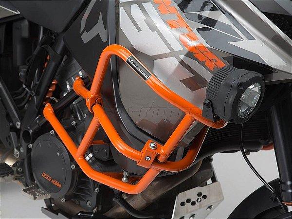 Protetor De Motor Lateral Superior Laranja KTM 1190 Adventure R