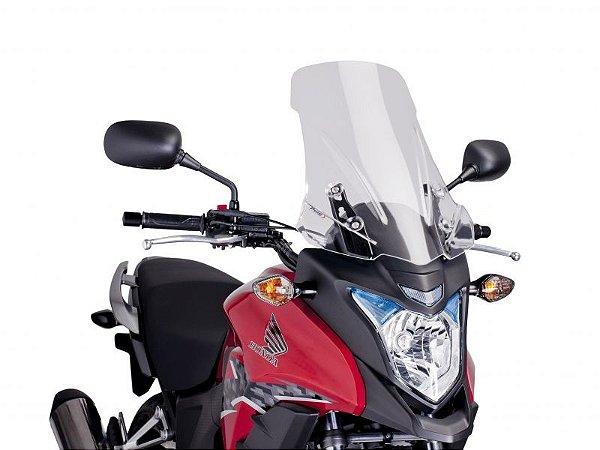 Bolha Touring Em Acrílico Transparente Honda CB 500X Puig