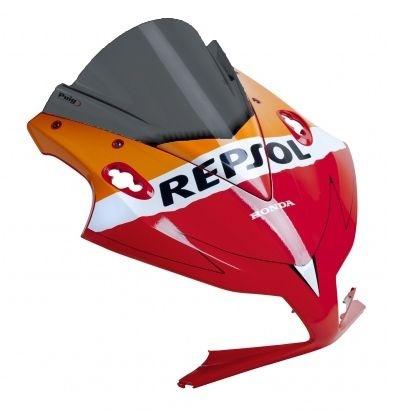 Bolha Racing Repsol Edition Em Acrílico Fumê Escura Honda CBR 1000RR 2012 - 2014