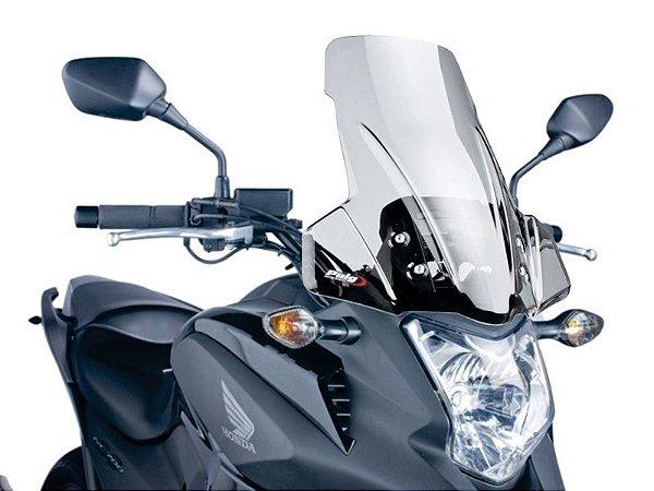 Bolha Touring Em Acrílico Transparente Honda NC 750X Puig