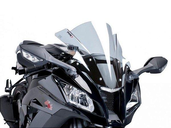Bolha Racing Em Acrílico Fumê Clara Kawasaki ZX-10R Ninja Puig