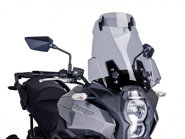 Bolha Touring Em Acrílico com Defletor Kawasaki Versys 1000 Puig