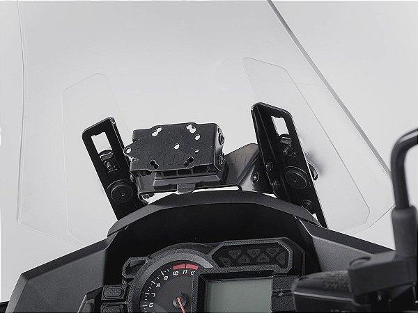 Suporte De Fixação Para GPS Bolha SW-Motech Kawasaki Versys 1000
