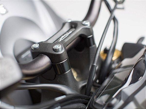 Jogo de Mancal de Altura e Distância para Guidão SW-Motech Suzuki GSX-S 1000F 2016