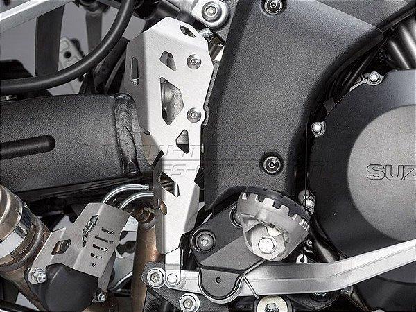 Protetor Do Cilindro De Freio Traseiro Prata Suzuki V-Strom 1000 SW-Motech