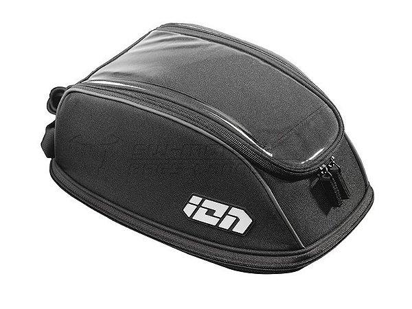 Mala De Tanque Tankbag Quick-lock Ion One Expansível 5 a 9 Litros Triumph Street Triple 675R