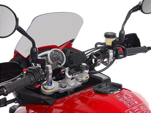 Suporte De Fixação Para GPS Guidão SW-Motech Triumph Tiger Sport 1050