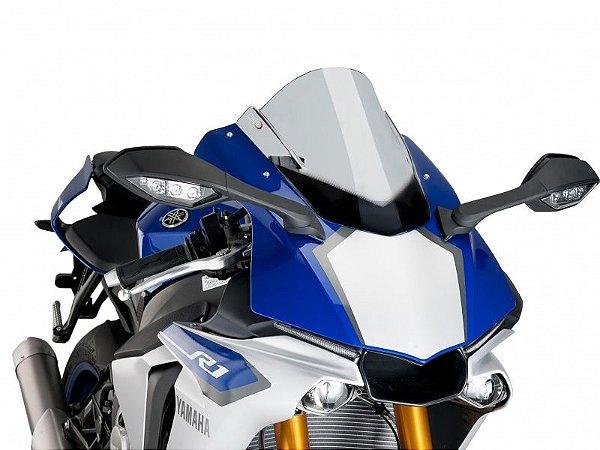 Bolha Racing Em Acrílico Fumê Clara Yamaha YZF R1 2016 Puig