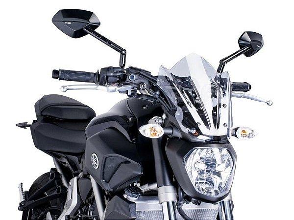 Bolha Naked Sport Em Acrílico Transparente Yamaha MT-07 Puig