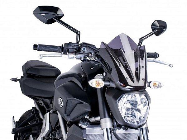 Bolha Naked Sport Em Acrílico Fumê Escura Yamaha MT-07 Puig