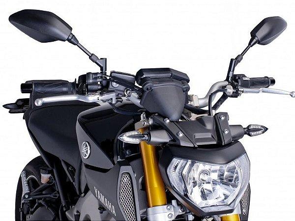 Protetor Frontal Do Painel Preto Yamaha MT-09