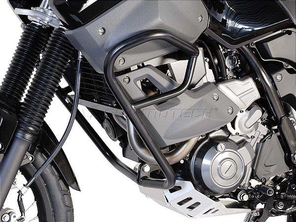 Protetor de Motor Lateral Preto Yamaha XT 660Z Ténéré