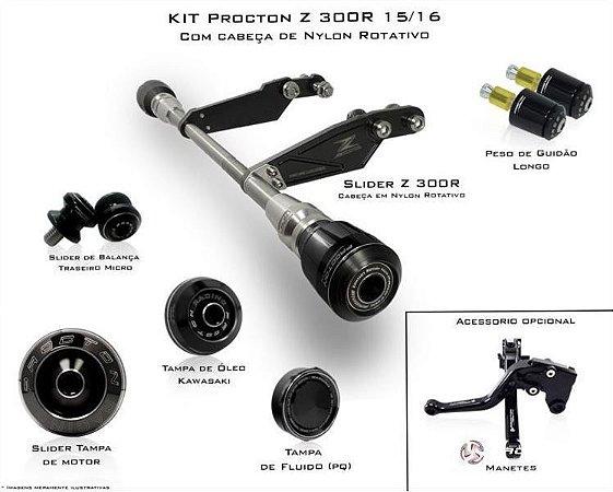 Kit de Slider Procton - Kawasaki Z300