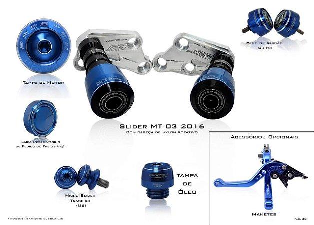 Kit de Slider Procton - Yamaha MT-03