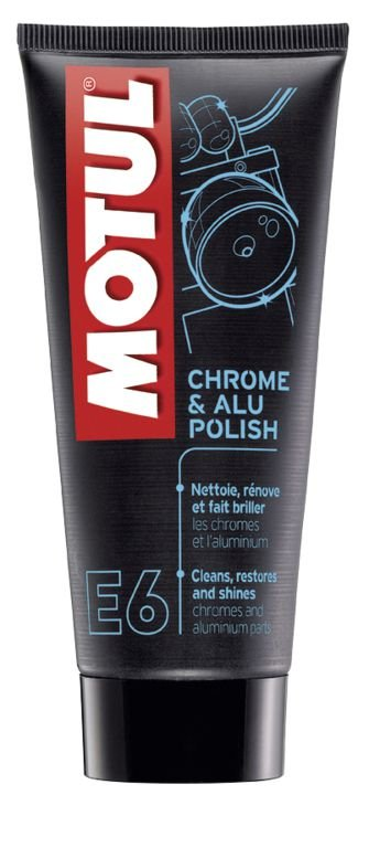 Motul Chrome & Aluminium Polish E6 Polidor 100ml