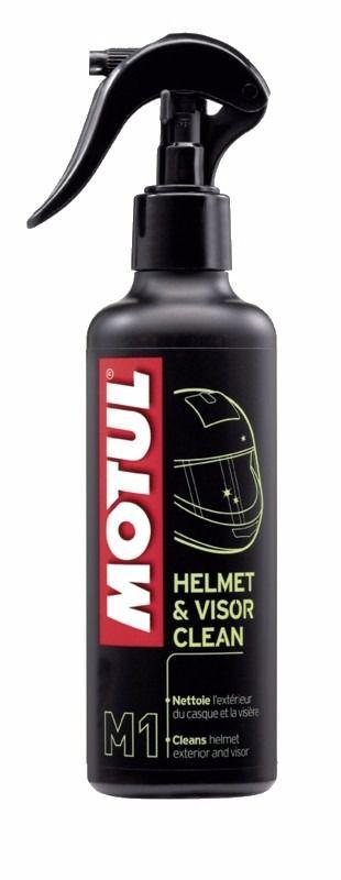 Motul Helmet Visor Clean M1 Limpador Viseira Capacete 250ml