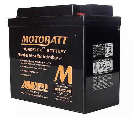 Bateria Motobatt Mbtx20uhd Ytx20lbs Honda Gl 1800 Goldwing