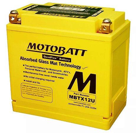 Bateria Motobatt Mbtx12u Ytx14lbs Harley Davidson Sportster