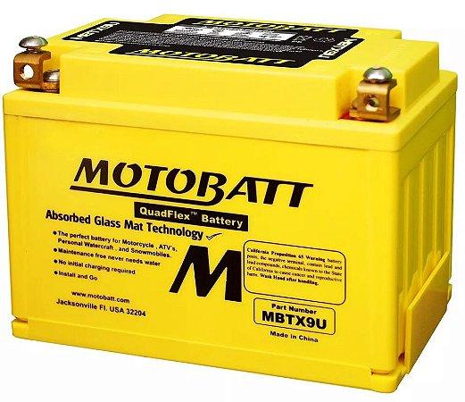 Bateria Motobatt Mbtx9u Ytx9bs Suzuki GSX 650F