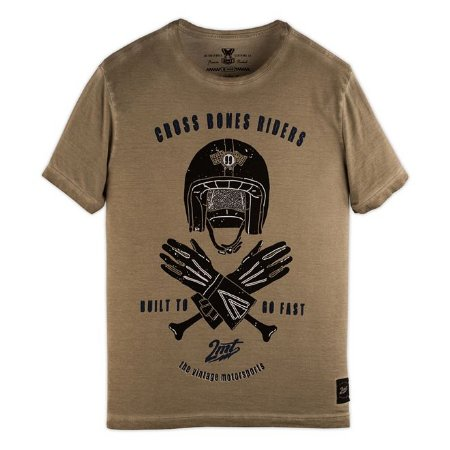 Camiseta 2mt Cross Bones Riders Corrida Moto