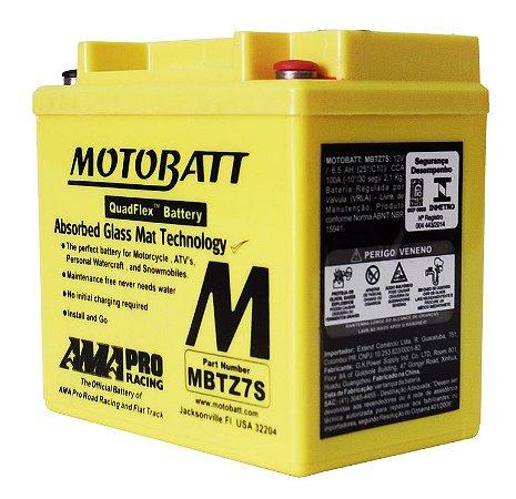 Bateria Motobatt Mbtz7s Ytx5l-bs Ytz7s YAMAHA MOTOCROSS (Todos os modelos)