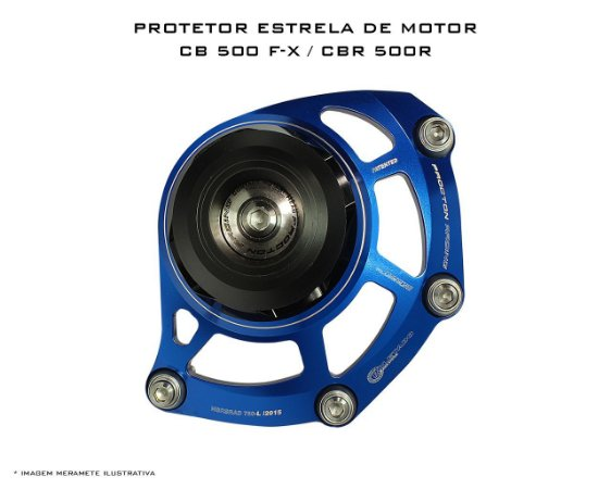 Slider de Motor Estrela Procton (esquerdo) Honda CB 500F