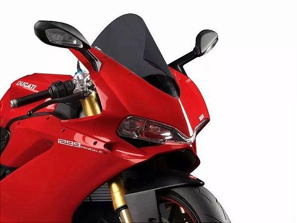 Bolha Racing Fumê Escura Acrílico Ducati Panigale 1299 Puig