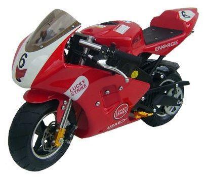 Mini Moto Esportiva Corrida Garelli 49cc Pina Gasolina Lucky
