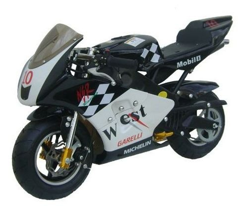 Mini Moto Esportiva Corrida Garelli 49cc Pina Gasolina West