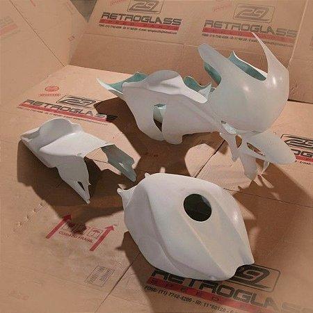Kit de Carenagem em Fibra para Corrida - CBR 1000RR 2008-2011