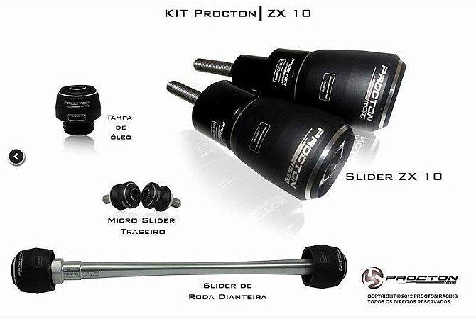 Kit de Slider Procton - Kawasaki ZX-10R