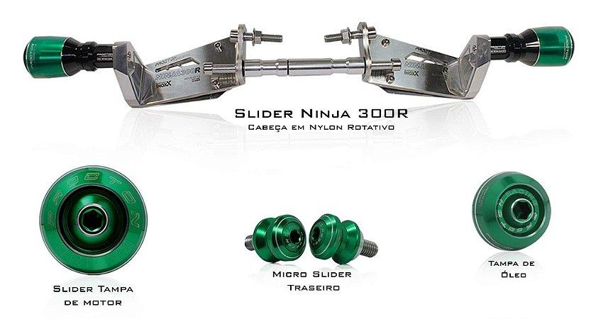 Kit de Slider Procton - Kawasaki Ninja 300R