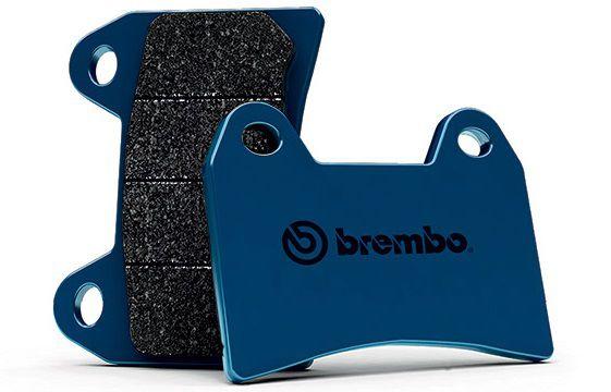 Pastilha de Freio Dianteira Brembo Carbono Cerâmica Suzuki V-Strom 1000 Até 2014