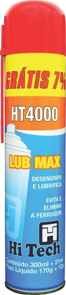 Spray Desengripante Hi Tech Lub Max HT4000