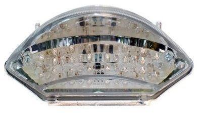 Lanterna com Pista Integrado Honda CB 600F Hornet Cristal 2005 - 2007