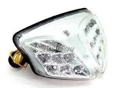 Lanterna com Pista Integrado Suzuki GSX-R Srad 750 Cristal 2008 - 2010