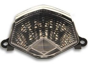 Lanterna com Pista Integrado Kawasaki Z750 Cristal 2009 - 2011
