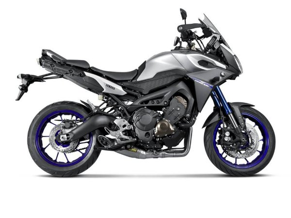 Escapamento Full Akrapovic Racing Line ponteira titanio Yamaha MT-09/ Tracer 2015 a 2018
