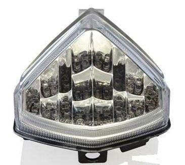 Lanterna com Pista Integrado Honda CB 600F Hornet 2012 - 2014 Cristal