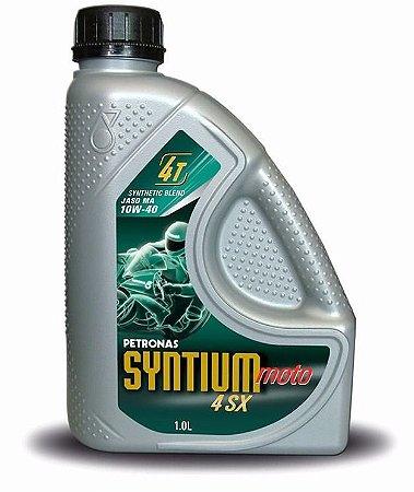 Petronas Syntium Moto 10w40 4sx 4t Óleo Motor Semi-sintético