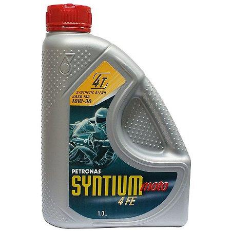 Petronas Syntium Moto 10w30 4fe 4t Óleo Motor Semi-sintético