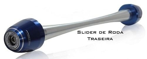Slider de Roda Traseira Triumph Nova Daytona 675 2013-2015 Procton