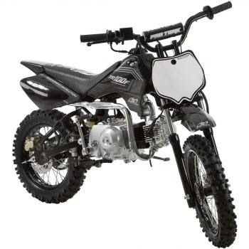 Mini Moto Trilha Cross 100cc Protork Preta TR100F