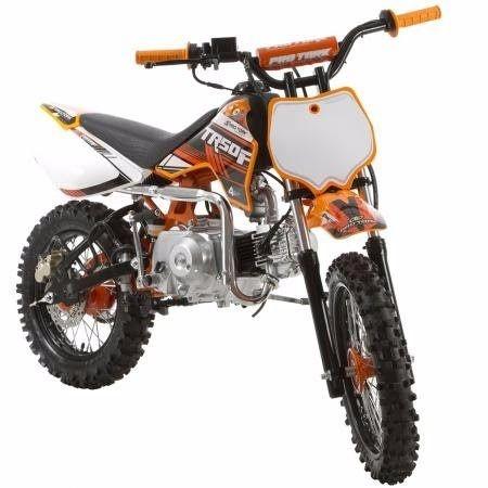 Mini Moto Trilha Cross 50cc Protork Preta TR50F