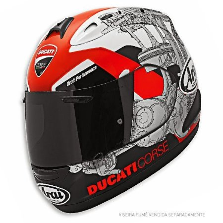 Capacete Arai Helmet Rx-7 Gp Ducati Corse 14