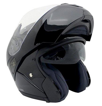 Capacete Hjc Sy-Max III Black Robocop