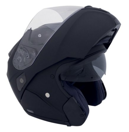 Capacete Hjc Sy-Max III Matt Black (Fosco) Robocop